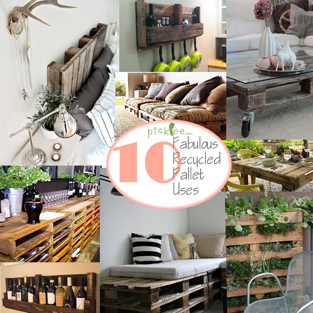 Recycle Pallet: 10 Ways To Transform Shipping Pallets- Free & Fabulous