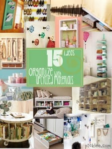 15 upcycle and organize solutions