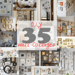 35 diy photo walls