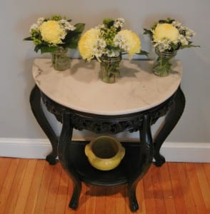 Victorian Accent Table {Turned Funky}