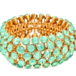 Azimuth Seafoam Crystal Bracelet