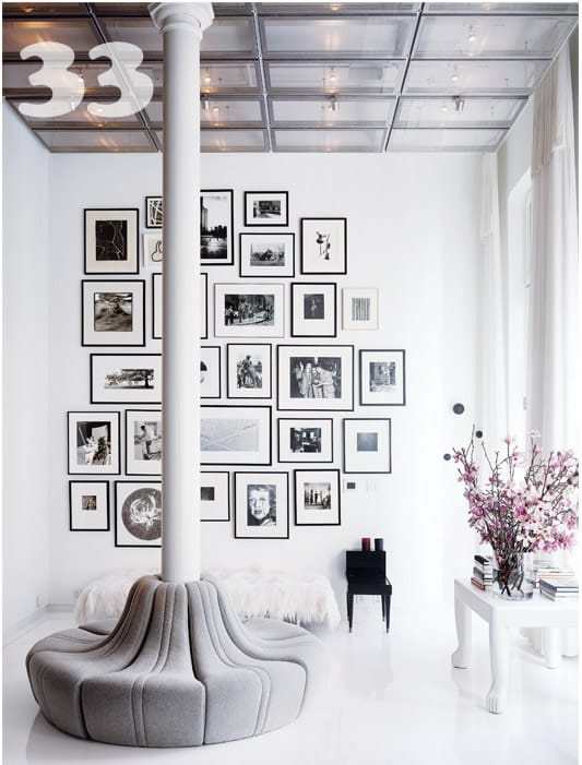Gallery Wall Ideas Black And White : Diy art photo wall collages endless inspiration picklee