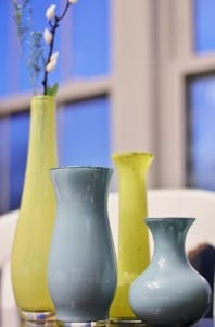 painted vases after