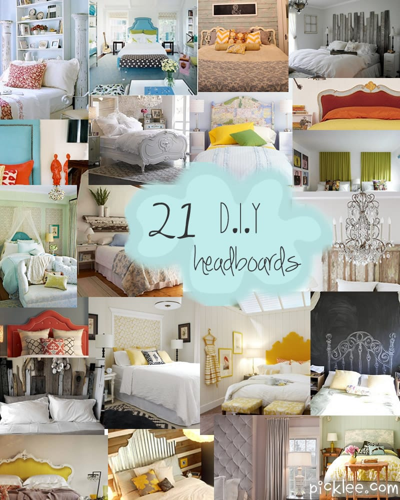The DIY Headboard Extravaganza Unique Headboard Inspiration Picklee