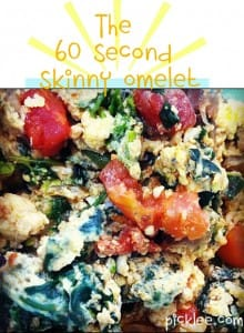 60-second-spinach-omelet