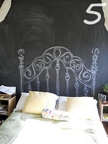 Painted Headboard Simple The Diy Headboard Extravaganza Unique Headboard  Inspiration . Decorating Inspiration