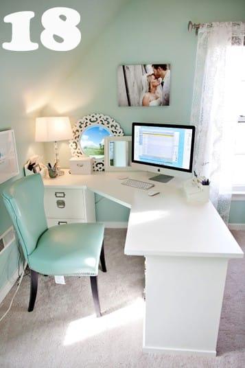 Desk , Diy Desk , Diy Corner Desk , Diy L Shaped Computer Desk