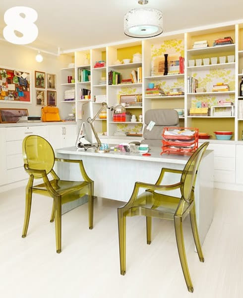 Pastel Colors And Creativity Turning Rooms Into Modern: 23 Sensational Home Offices {inspiration}