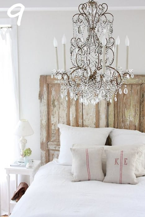 Oo La La How Rustic Chic Glamorous A Dreamy White Bedroom With An