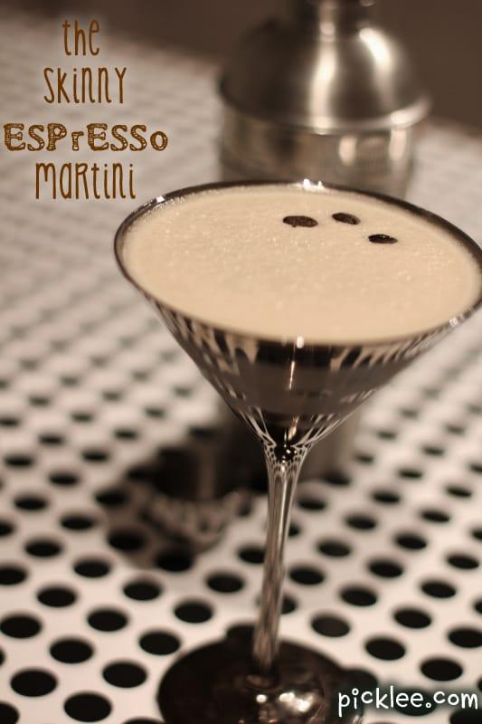the skinny espresso martini_low calorie