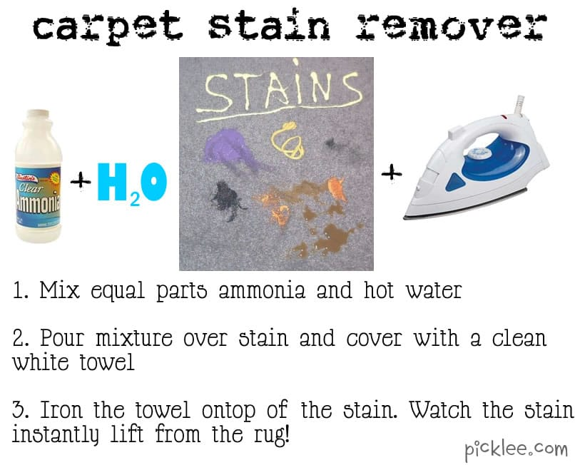 Carpet stain remover pin this not that - Remove carpet stains ...
