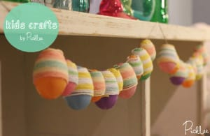 diy-yarn-easter-eggs-kids crafts