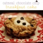 oatmeal-chocolate chip-breakfast cake