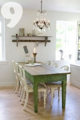 Rustic Chic Dining Chairs 14 fabulous rustic chic dining tables {inspiration} - picklee