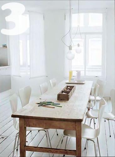 Beau Schoolhouse Rustic Table Featherandnestkim.blogspot 3