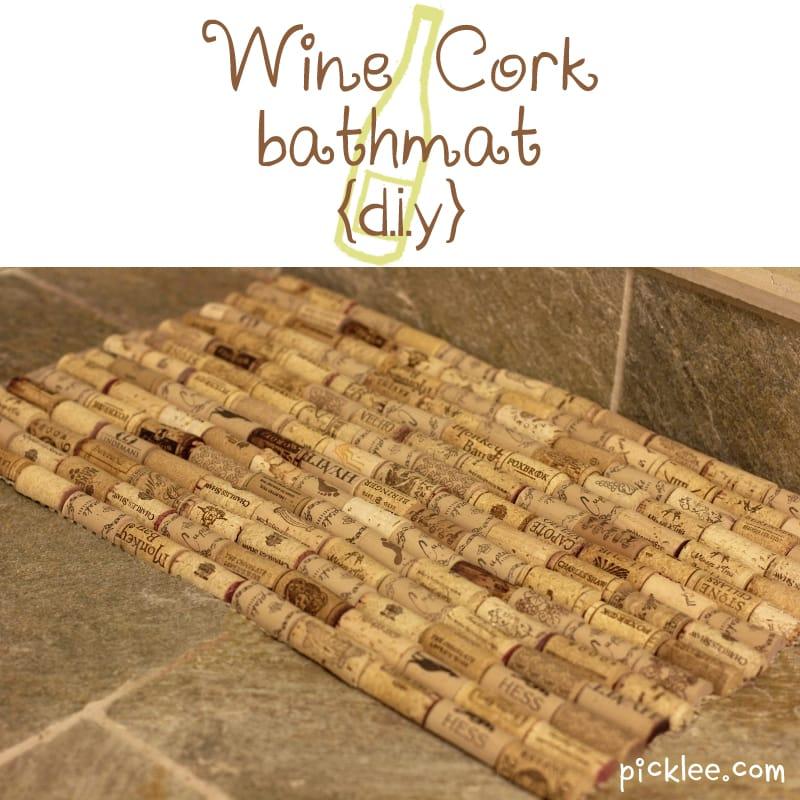 Cork Bath Mat Gather Up cork bath