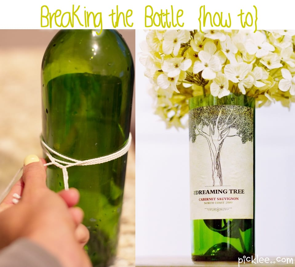 How to Cut Breaking the Bottle