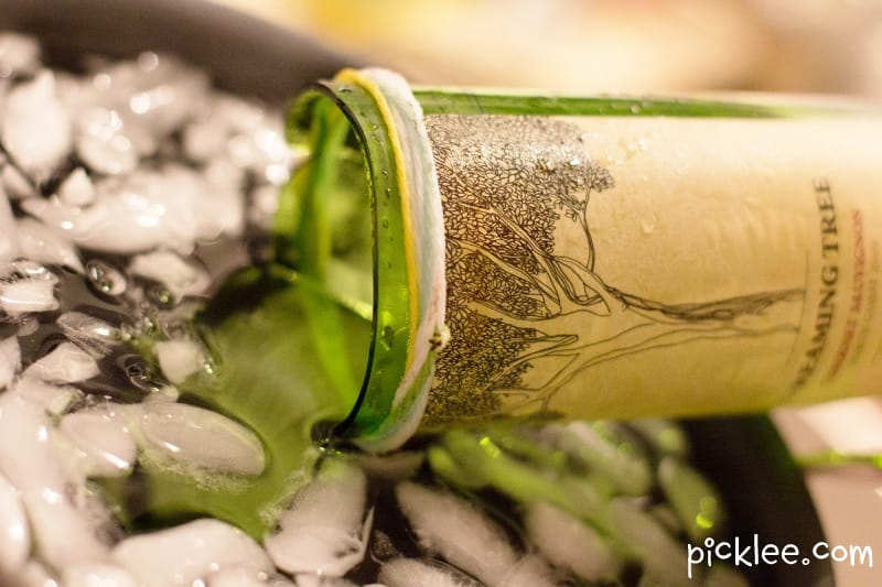 Diy naver for How to cut the end of a wine bottle
