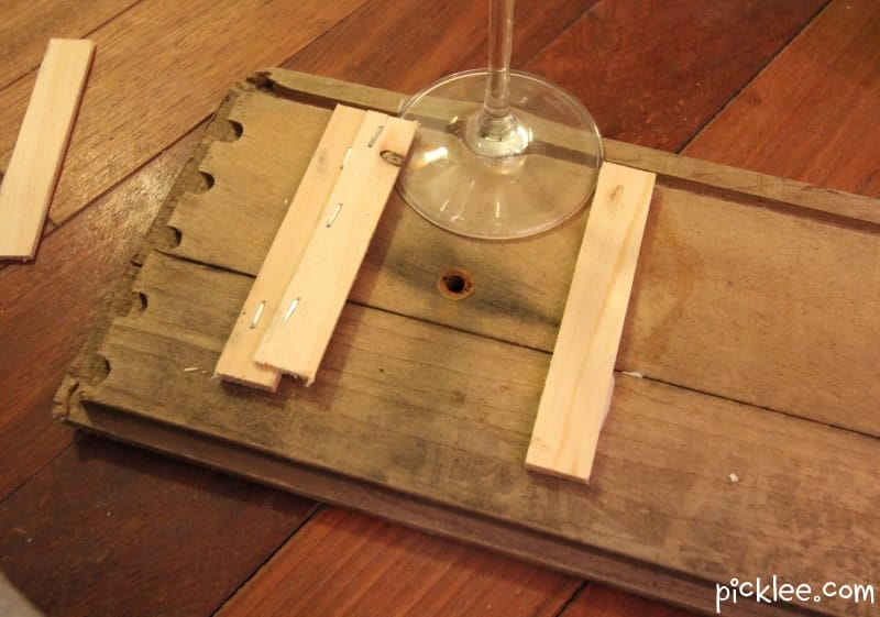 How To Make A Wood Wine Glass Rack