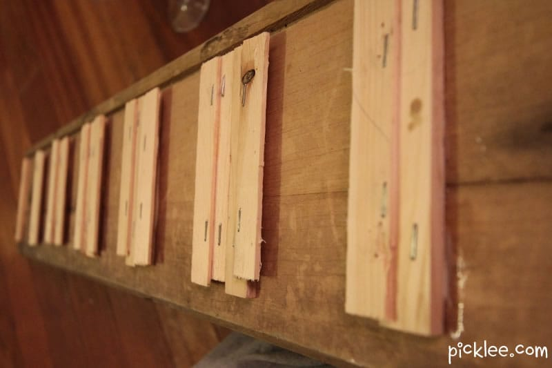 Reclaimed Wine Glass Rack Diy Picklee