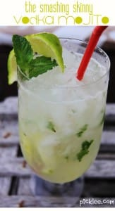 smashing skinny vodka mojito