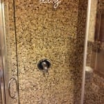 stone shower diy