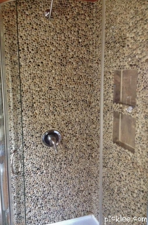 The $50 Stone Shower DIY {your pick} - Picklee