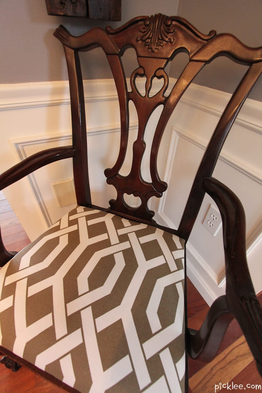 Gentil What Do You Think Of My Revived Chippendale Chair?