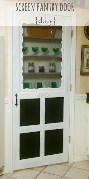 Diy Screen Pantry Door Your Pick Picklee