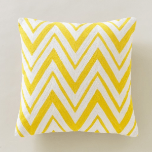 dwell chevron pillow