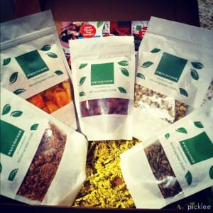 nature box-snack package