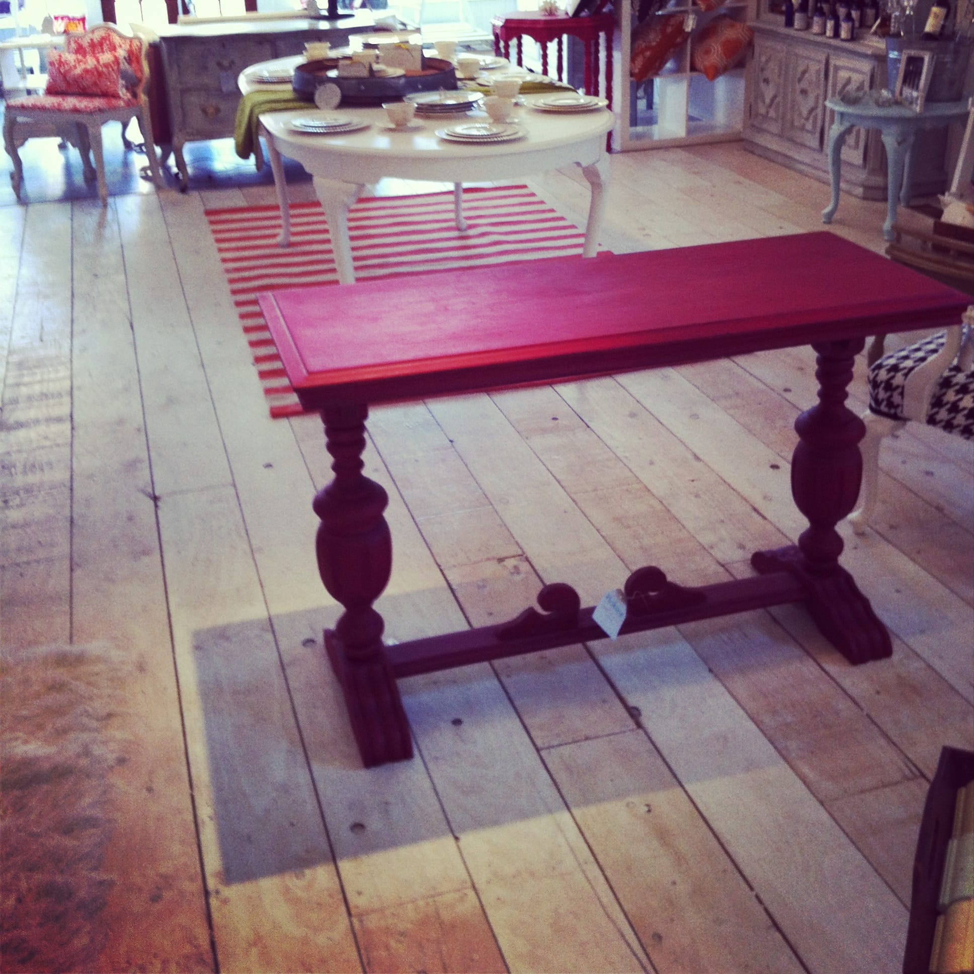 Farmhouse wide plank floor made from plywood diy picklee update solutioingenieria Choice Image