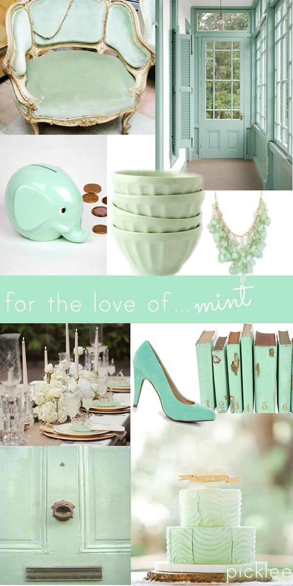 the color mint