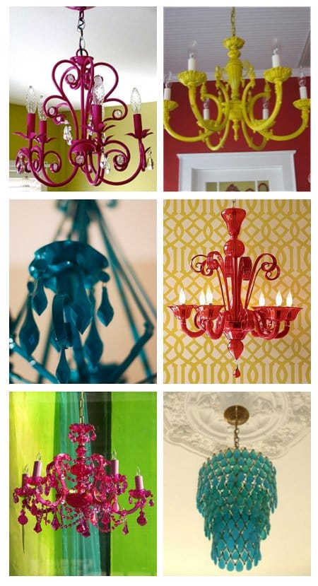 thrifting chandeliers spray paint old chandeliers. Black Bedroom Furniture Sets. Home Design Ideas