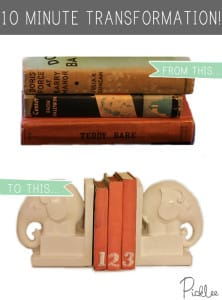 diy painted books