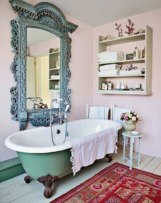 Arredamento stile shabby chic arredare interni ed esterni - Vasche da bagno retro ...