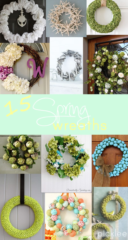 15 diy spring-wreaths