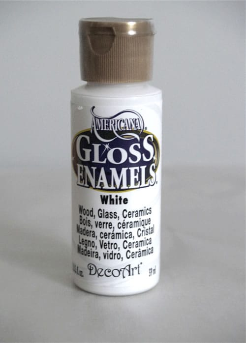 americana gloss white paint