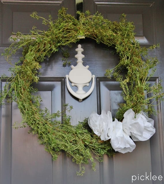 diy-spring-wreath-greens