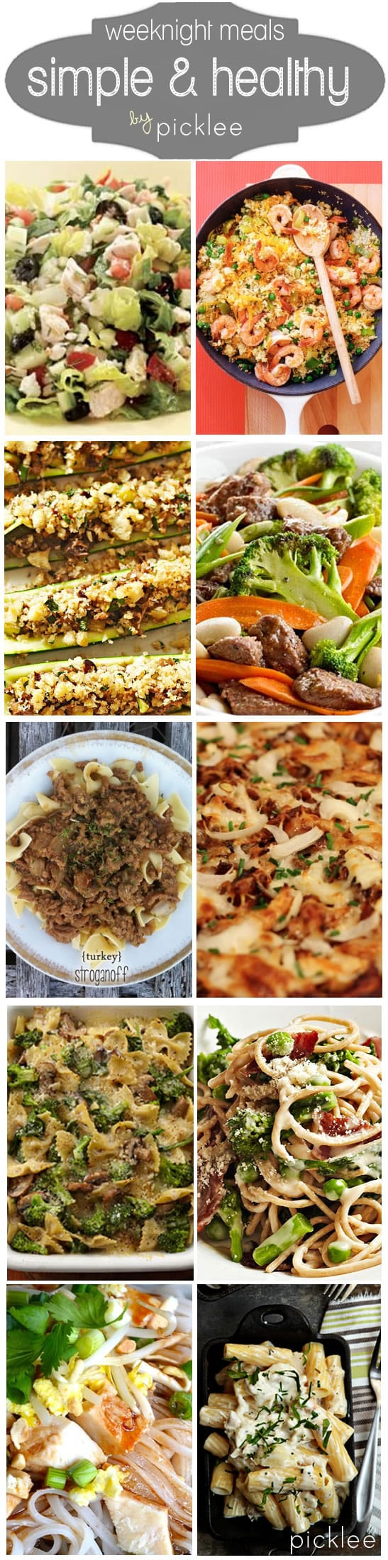 healthy family meals 10 simple healthy weeknight dinners recipes