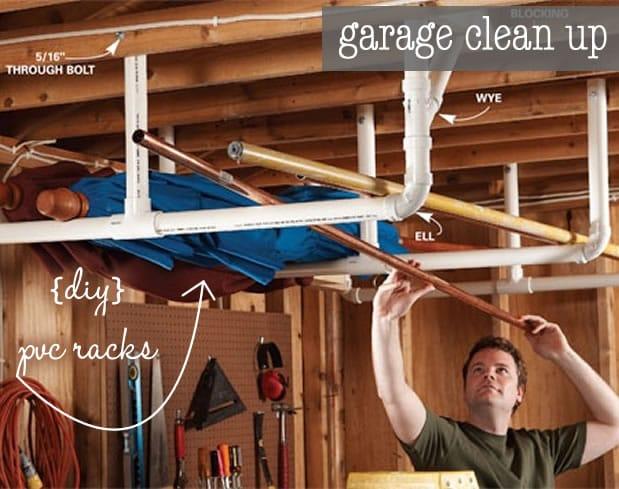 organize-garage-pvc-racks
