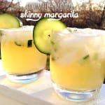 cucumber mango skinny margarita