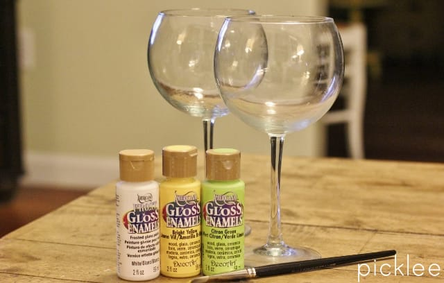 diy-frosted wine glasses-5
