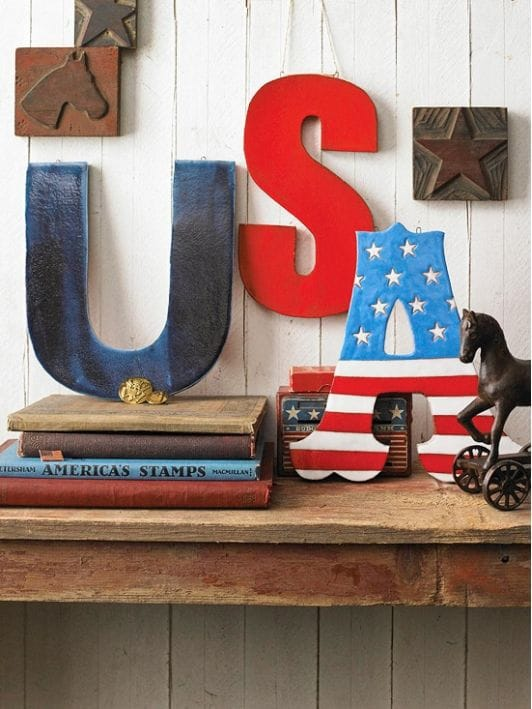 usa letters-4th-of-july