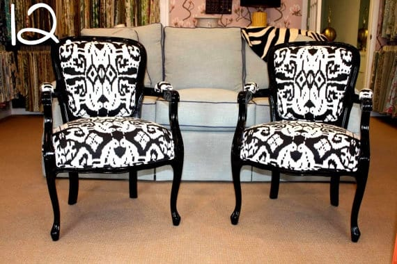 black lacquer side chairs-12