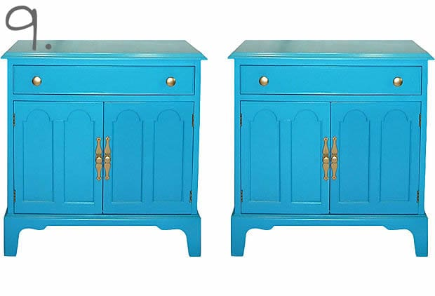 Genial Lacquer Side Tables 9