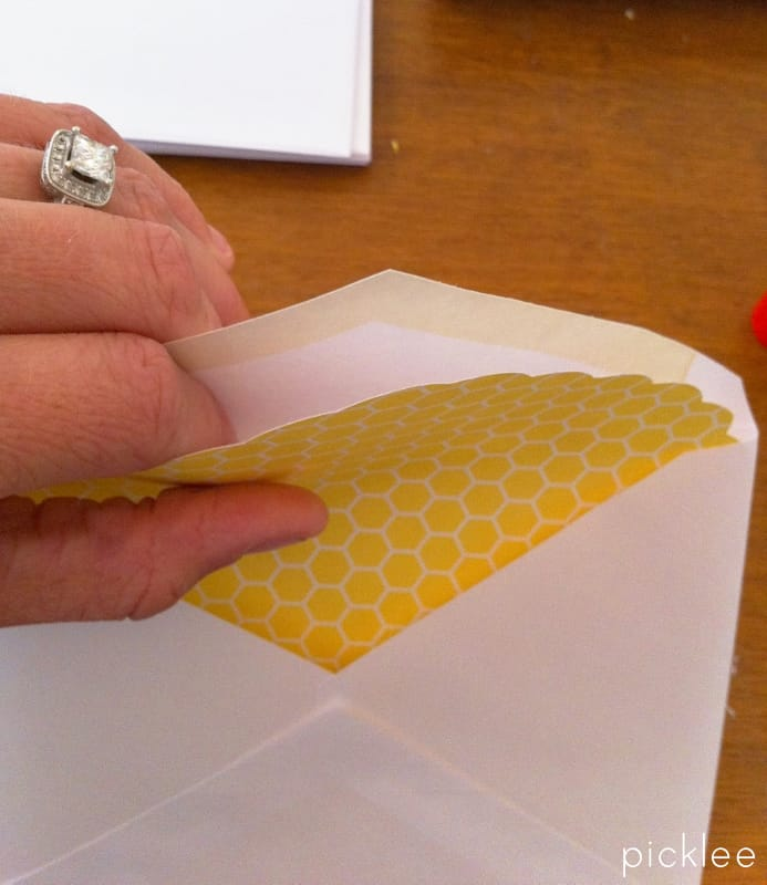 Lattice Envelope Liners DIY