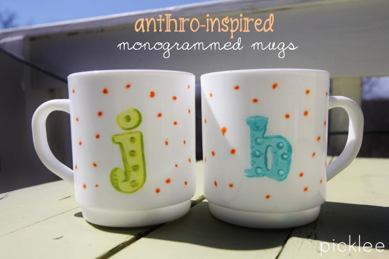anthro inspired mugs