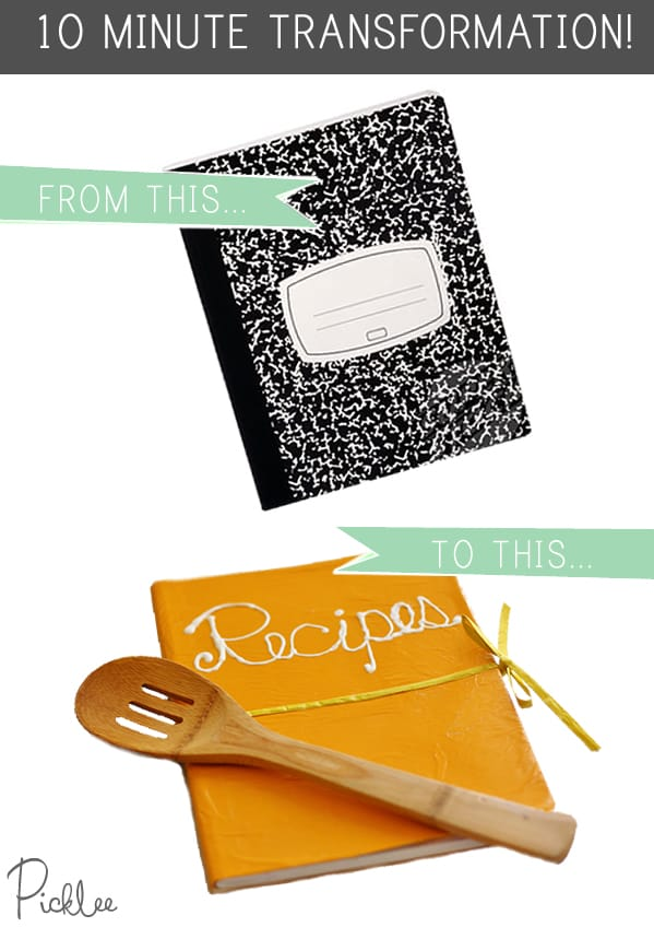 DIY Recipe Journal