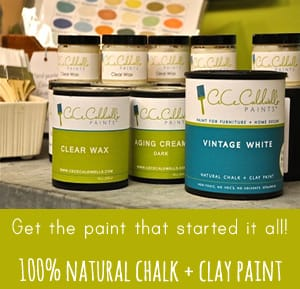 chalk clay paint ad